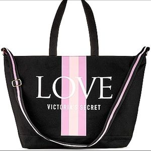 Victoria Secret Love Logo Weekender Tote Bag
